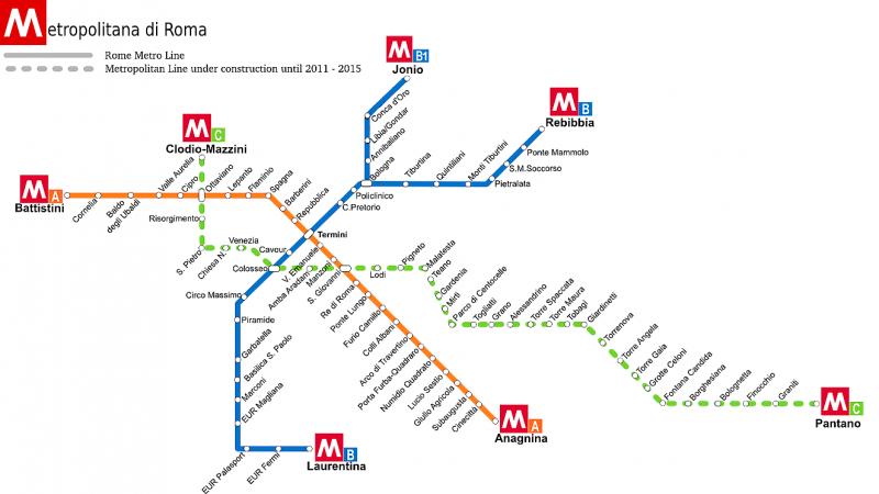 Roma metro 2012